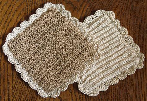 crochet potholder pattern old fashioned crocheted potholder pattern something for
