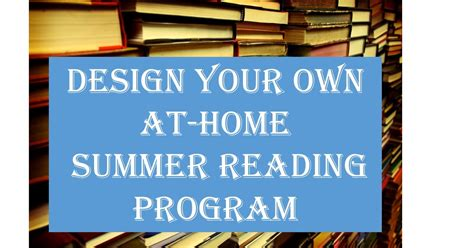 design your own home program homeschool on the hilltop design your own at home summer