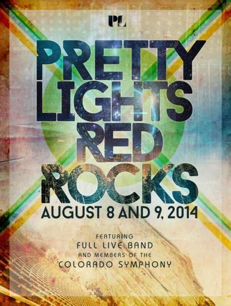 pretty lights rocks tickets pretty lights at rocks with live band symphony members