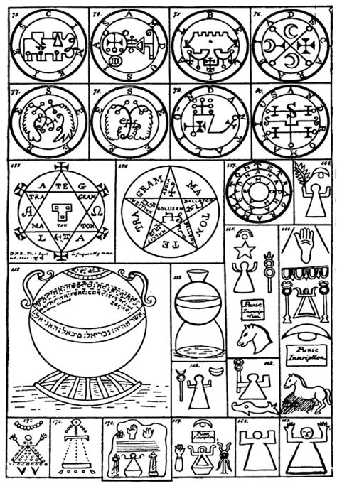 seal and deliver books lesser key of solomon goetia the book of evil spirits