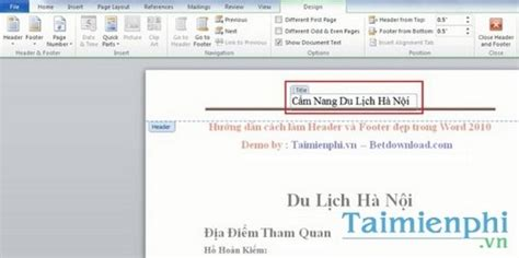 creating header and footer in word 2010 how to create a beautiful header and footer in word 2010