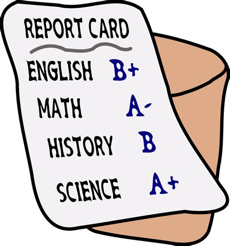 Report Card Images