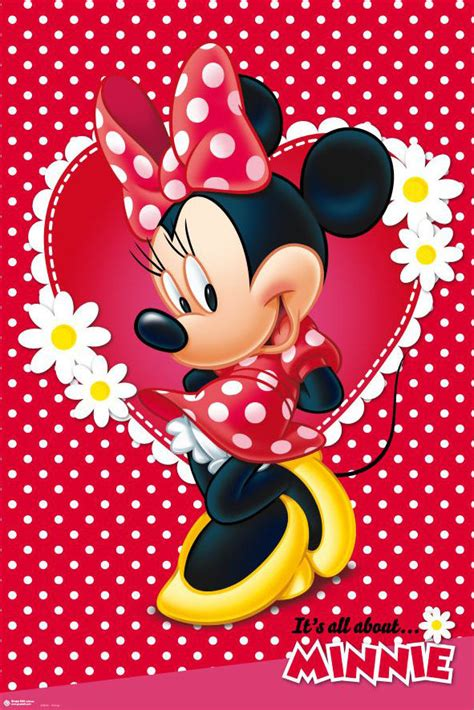 images about mickey mouse and minnie mouse bedding minnie mouse disney poster print mickey mouse size 1000   s l1000