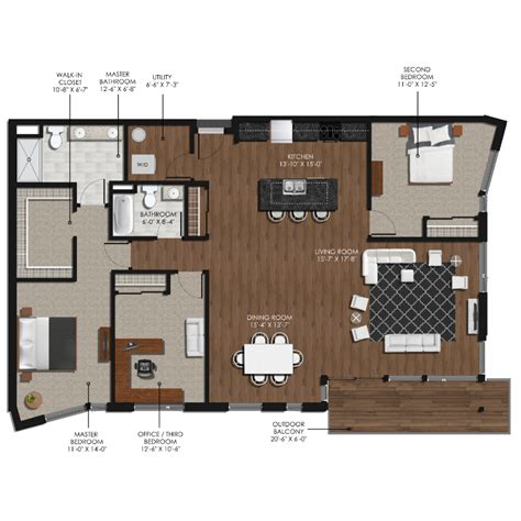 3 bedroom 2 bathroom 3 bedroom 2 bathroom style l forge and flare apartments