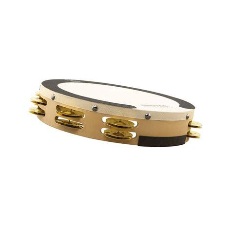 Alat Tamb grover pro 10 quot sound values brass tambourine sv tamb br