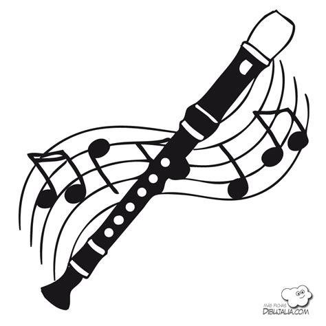 imagenes para dibujar musica flauta dulce dibujo imagui