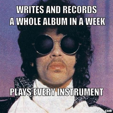 Prince Meme - click on the pic for 9 more lovely memes prince