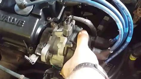 set ignition timing youtube