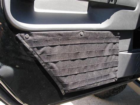 tactical jeep 2 door raingler jeep jk tactical molle door storage mounts 108