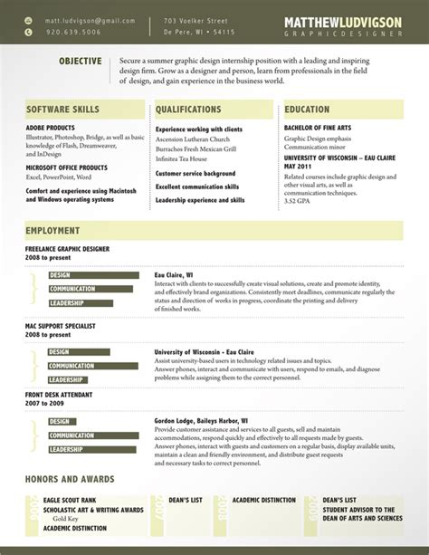creative cv layout template creative cv resume exles 04 milners blog