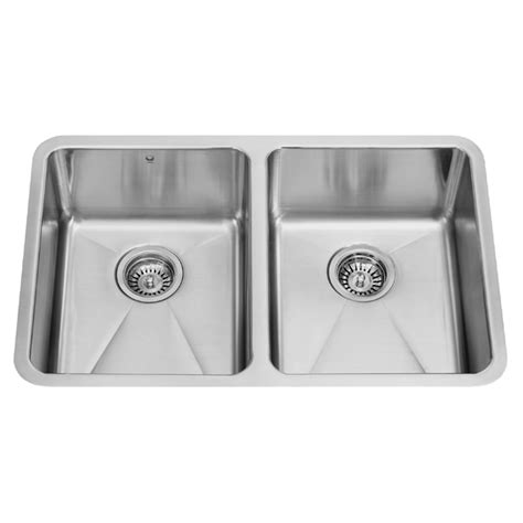 18 Inch Kitchen Sink Vigo Industries Vigo 29 Inch Undermount Stainless Steel 18 Bowl Kitchen Sink