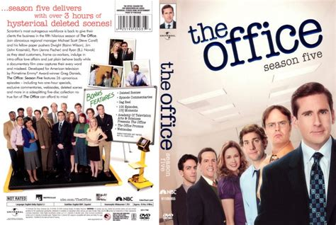 the office season 5 tv dvd scanned covers the office