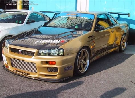 skyline nissan r34 nissan skyline r34 hd wallpaper