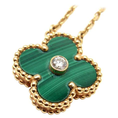 cleef and arpels limited edition alhambra malachite