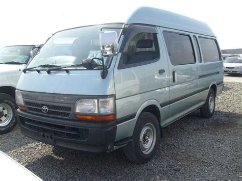 Toyota Hiace For Sale 2004 Toyota Hiace Wallpapers 2 0l Gasoline Fr Or Rr