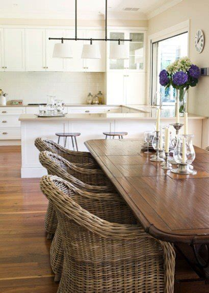 wicker indoor dining chairs foter