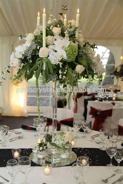 5arms crystal candelabra wedding decoration table