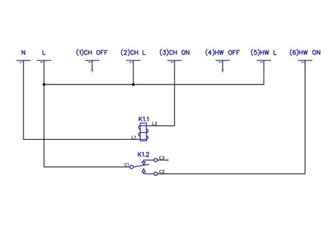 central heating programmer wiring diagram efcaviation