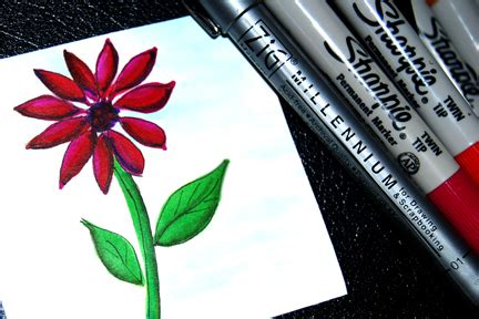 Easy Things To Draw In Sharpie by Coloring With Sharpies 171 Enchant