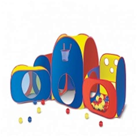 play huts playhut mega with balls tent outside playsets