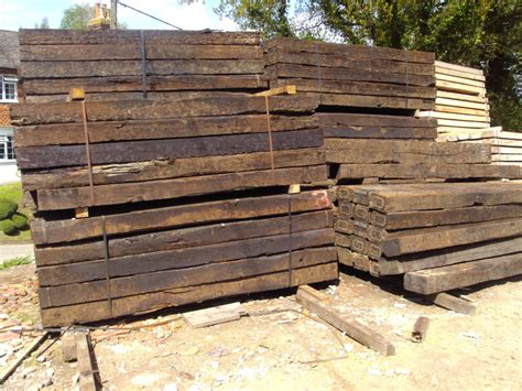 Reclaimed Hardwood Sleepers by Buy Reclaimed Railway Sleepers For East Sussex