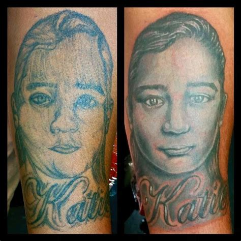 tattoo cover up portrait portrait cover up rework by leif hansen tattoonow
