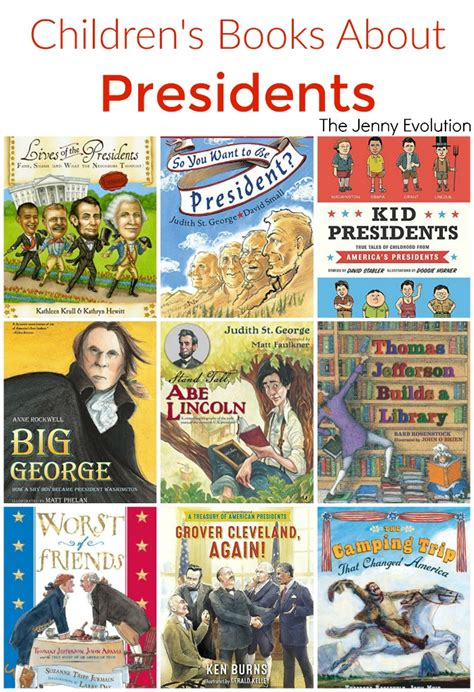 kid for president books childrens books about presidents study unit the