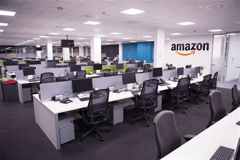 amazon office amazon phase 2 open plan office bench desking project by