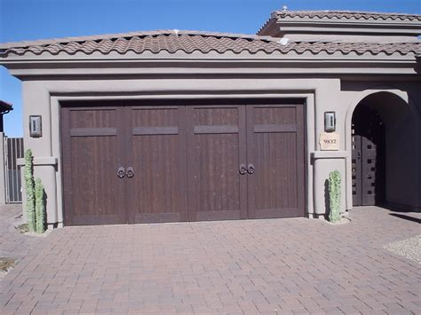 Garage Doors Az Custom Residential Garage Doors Gilbert Scottsdale Az