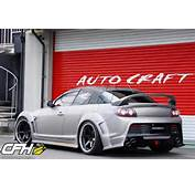 Mazda Rx8 Auto Craft Wide Body Kit 03 &171 Carbonfiberhoodscom