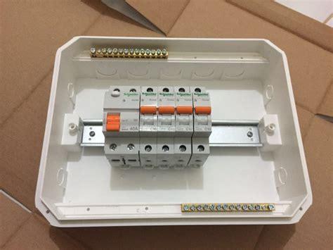 Box Mcb Schneider Jual Beli Paket Mcb Schneider 4 Mcb Elcb Box Baru