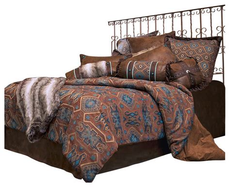 saguaro desert bedding set king southwestern