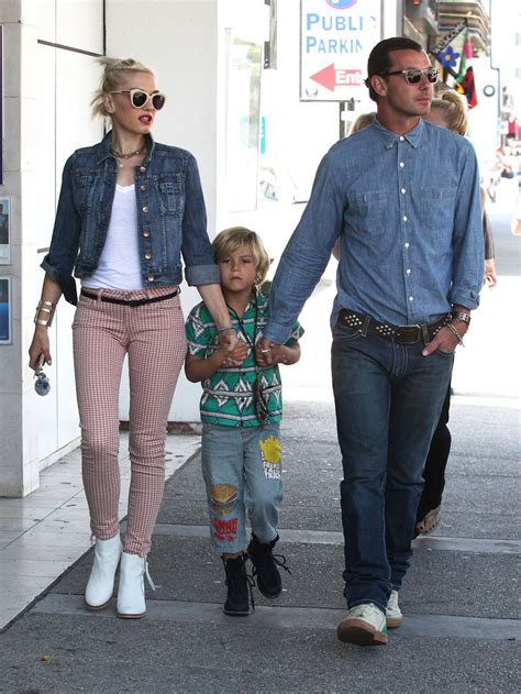 How Gwen Stefani Spent Mothers Day gwen stefani and family spend s day in downtown la