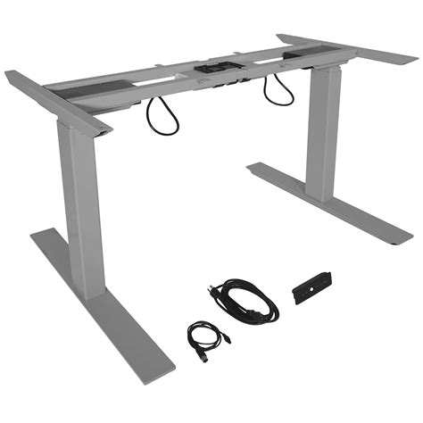 sit stand dual motor height adjustable desk frame titan dual motor electric adjustable base height sit stand