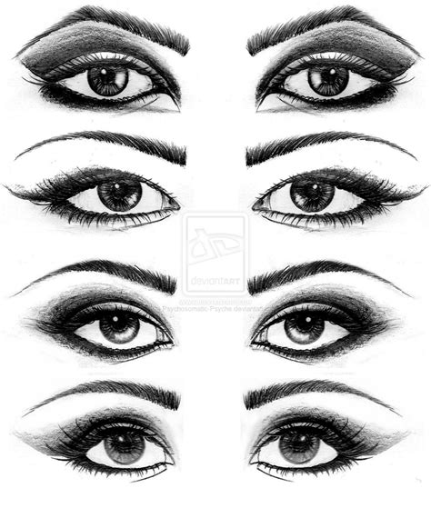 eye drawing drawings by psychosomatic psyche on deviantart