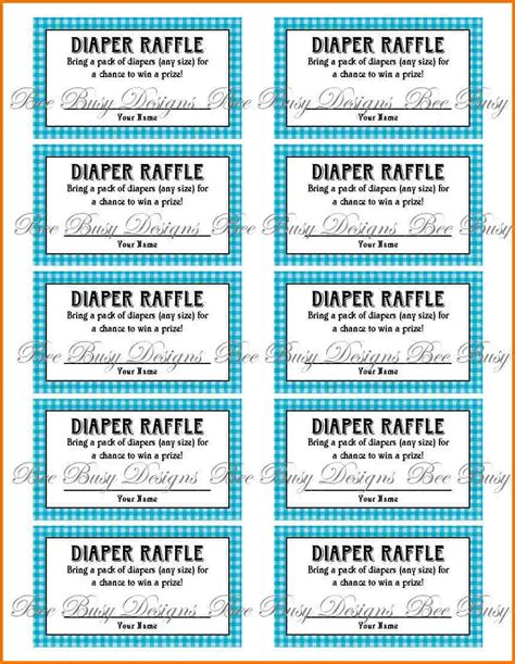printable tickets pdf free printable raffle ticket template authorization
