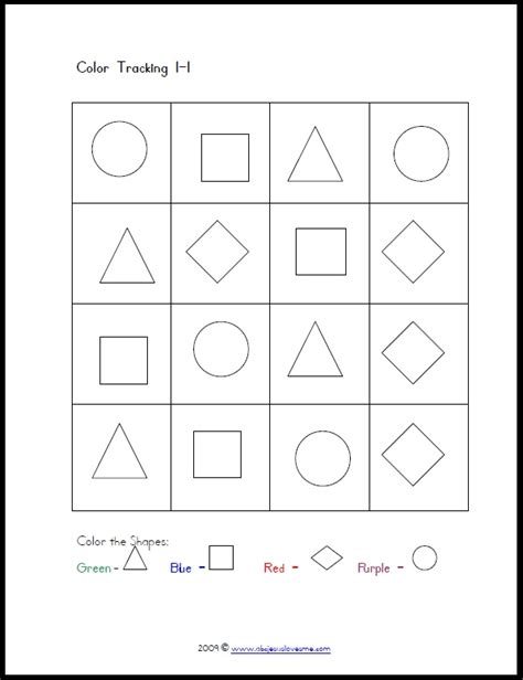 Free Visual Perception Worksheets by Pin By Merry Noel Chamberlain On Visual Tracking Motor