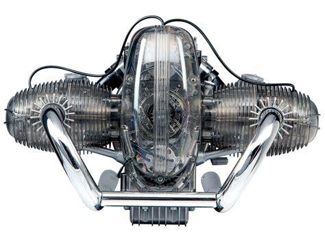 working model building set   bmw rs boxer engine