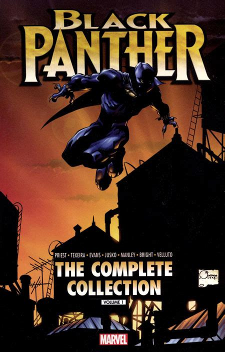 black panther by reginald hudlin the complete collection vol 1 black panther the complete collection black panther by priest volume 1 complete collection
