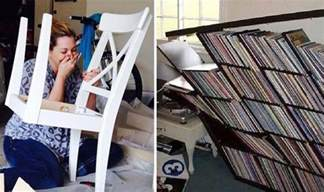 Ikea Flat Pack Homes attempts to assemble flat pack furniture result in diy