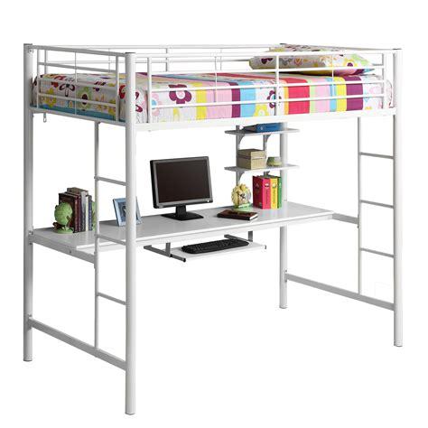 bunk loft beds furniture loft dorm room workstation bunk bed twin loft