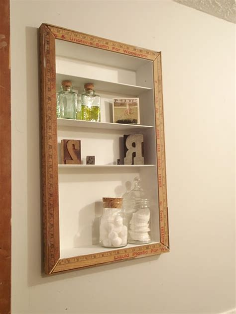 recessed shelving home diy pinterest