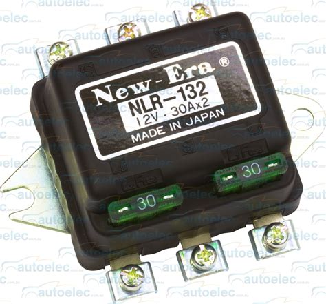 headlight relay new era 12 volt 12v new nlr 132 30a