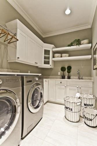 this paint color laundry room home ideas
