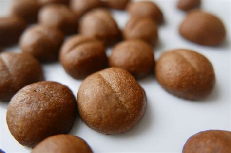Cookies Coffee Bean coffee beans cookies crunchy dans la lune