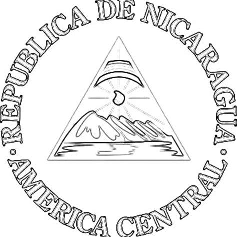 imagenes simbolos patrios de nicaragua cultura miscelaneas imagenes dibujos dibujos del escudo