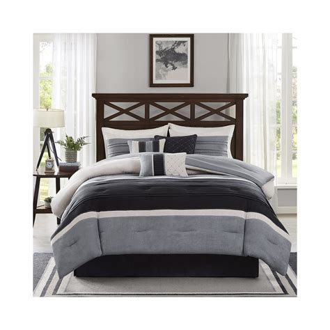 cheap madison park lenox 7 pc comforter set now bedding