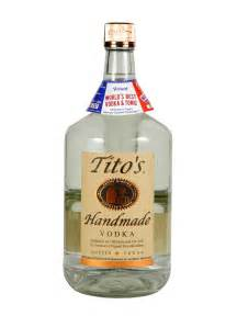 Titos Handmade Vodka - tito s handmade vodka 1 75l citygate wine spirits