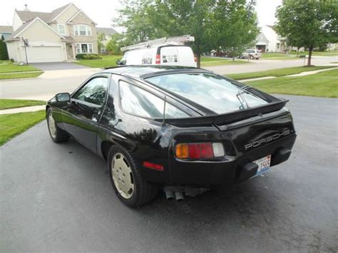 Porsche 8 Zylinder by Buy Used 1984 Porsche 928 S Sunroof 8 Cylinder Black