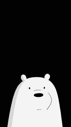 Stiker We Bare Bears Polar Lucu Imut homescreen lockscreen wallpaper phone we bare bears baby